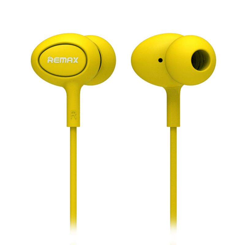 Remax RM515  Earphone - Kuning