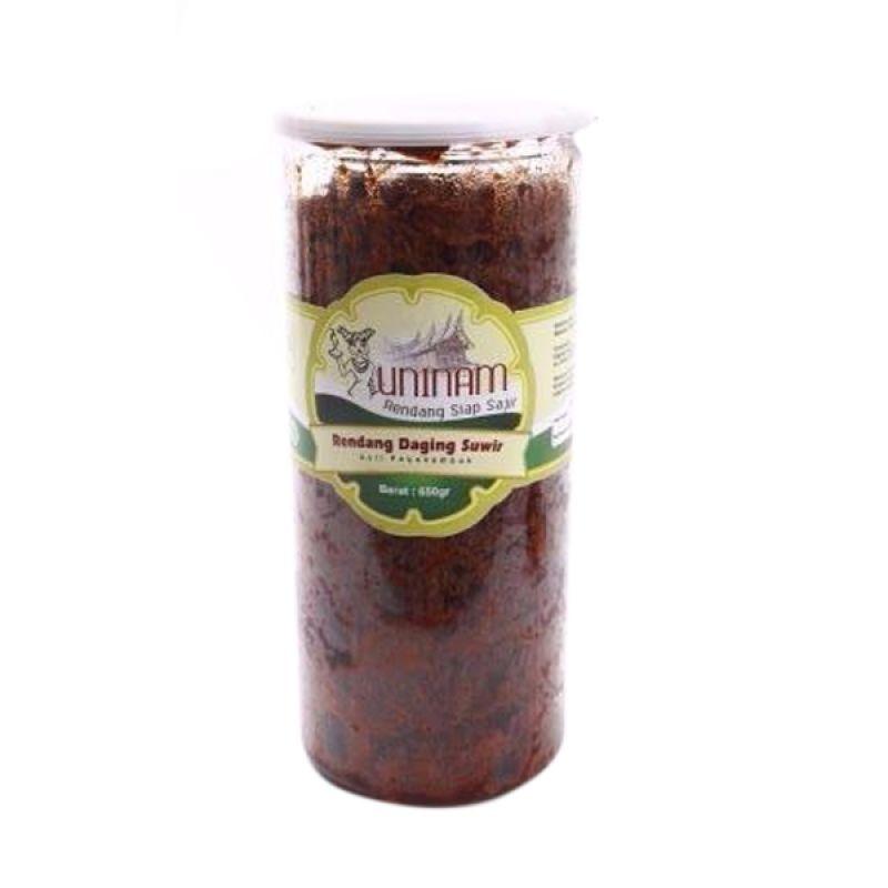 Uninam Rendang Daging Suwir Makanan Instan [650 gr]