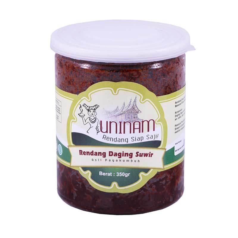 Uninam Rendang Daging Suwir Makanan Instan [350 gr]