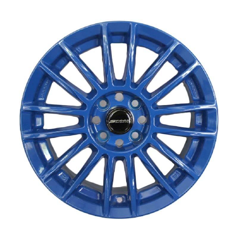 Replika 221 Spoon CR93 Blue Velg Mobil [R15x7 PCD 4.100 +38]