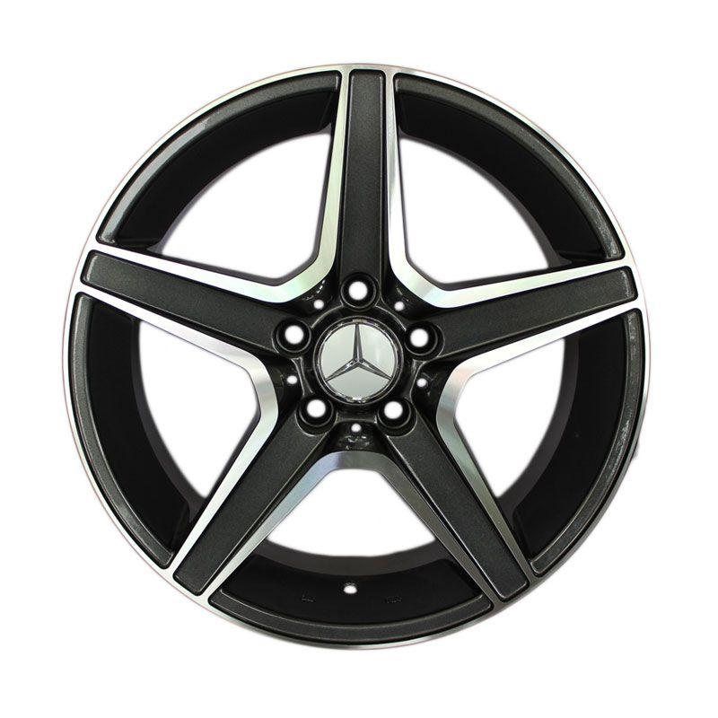harga Replika AMG Euro C63 Black Polish Velg Mobil [17 inch] Blibli.com