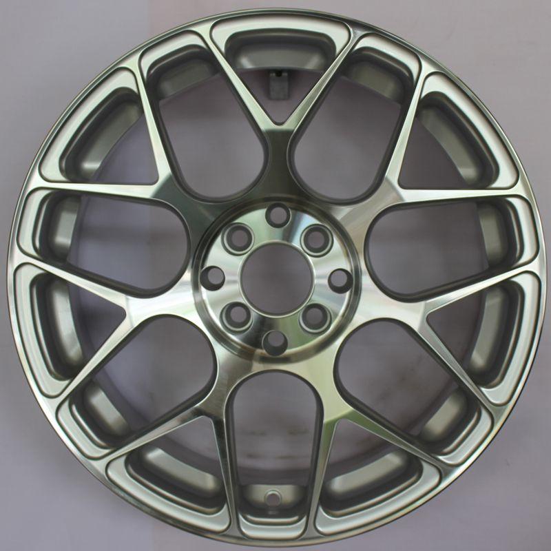 Replika SSW S242 HRE P40 Silver Polish Velg Mobil [17 inch] - Gratis Pemasangan