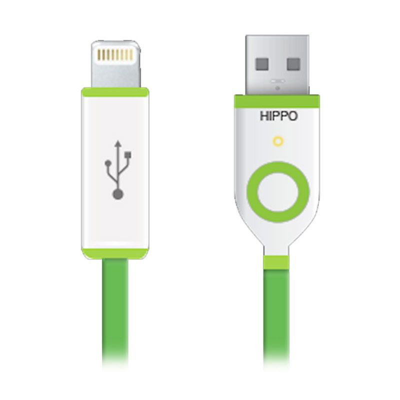 Hippo Teleport USB Data Cable for iPhone 5 or iPhone 6 [90 cm]