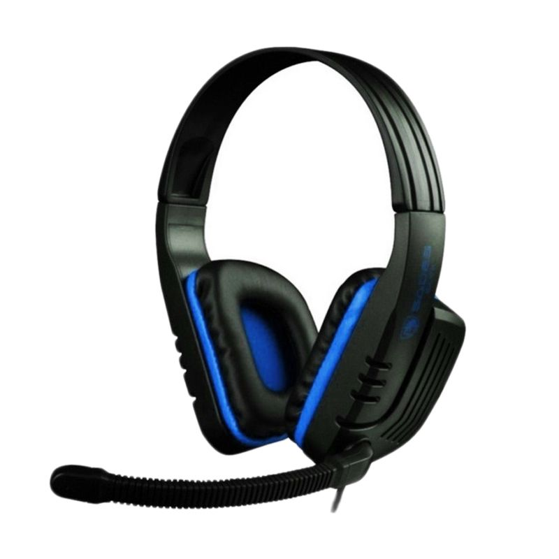Sades Chopper SA-711 High Quality Bass Biru Headset Gaming