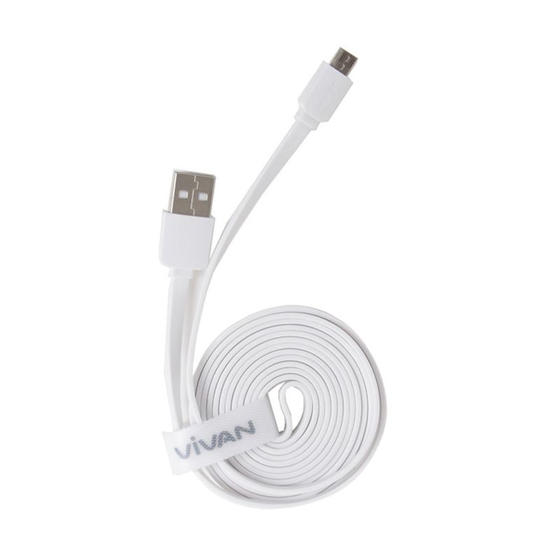 Vivan Cable Pro CM180 White USB Micro Data Cable