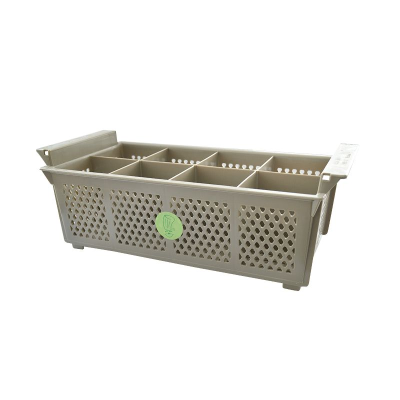 Restomart Cutlery Basket 8 Compartments (Almond)