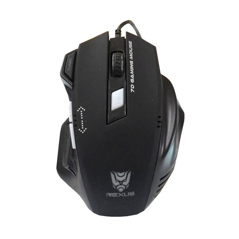 Rexus Extream RXM-G7 Gaming Mouse - Hitam [2400 DPI]