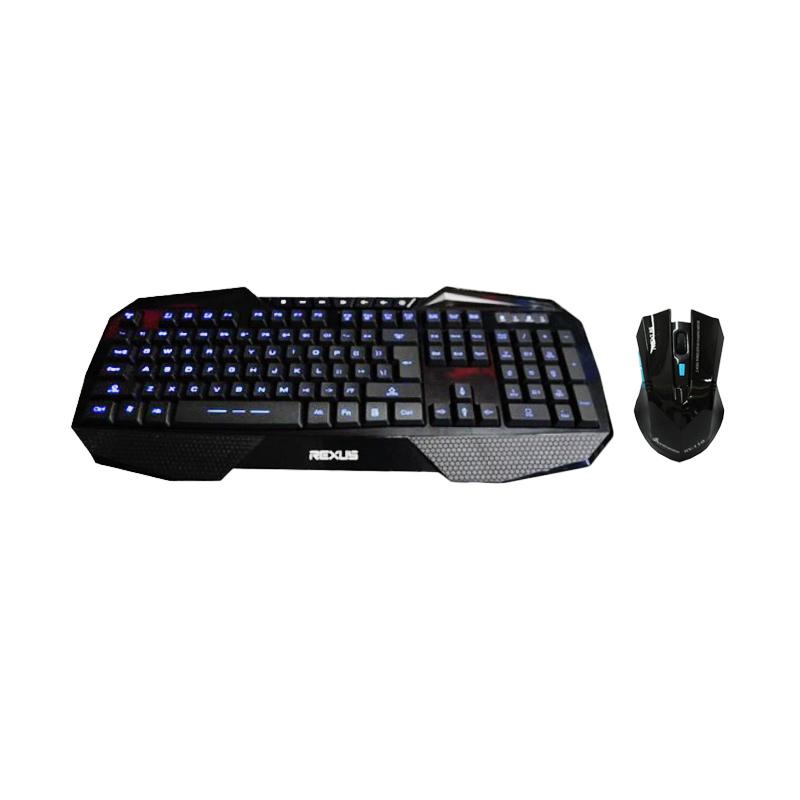 REXUS K1 Gaming Keyboard + Free REXUS Rx110 Wireless Gaming Mouse