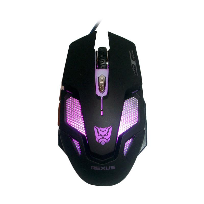 Rexus Makro RXM-X7 Black Mouse Gaming