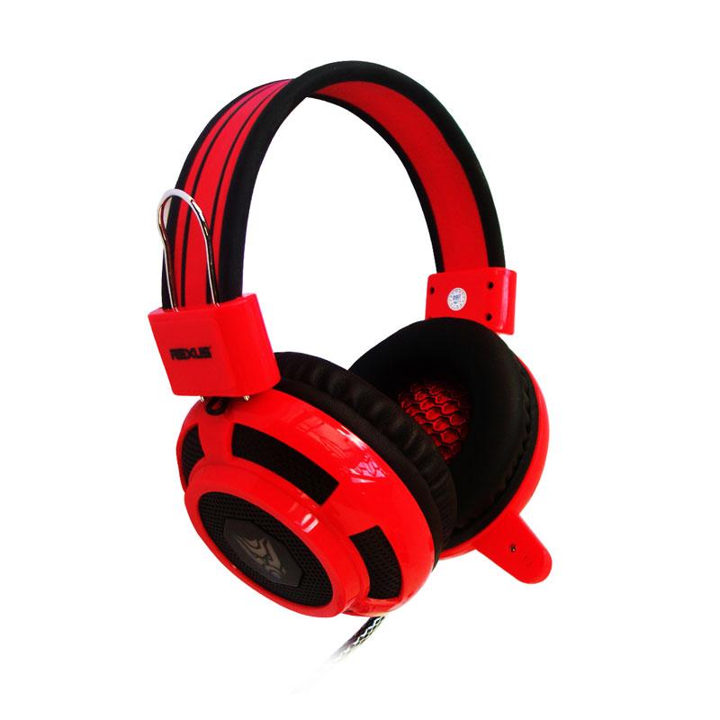 REXUS Pro F15 Gaming Headset - Red