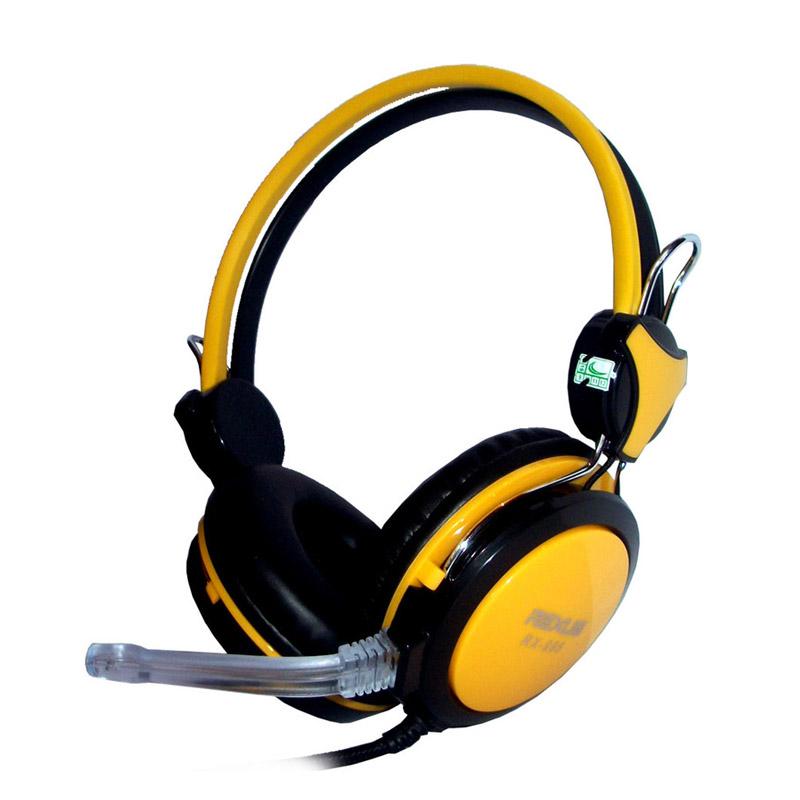 REXUS RX-995 Yellow Gaming Headset
