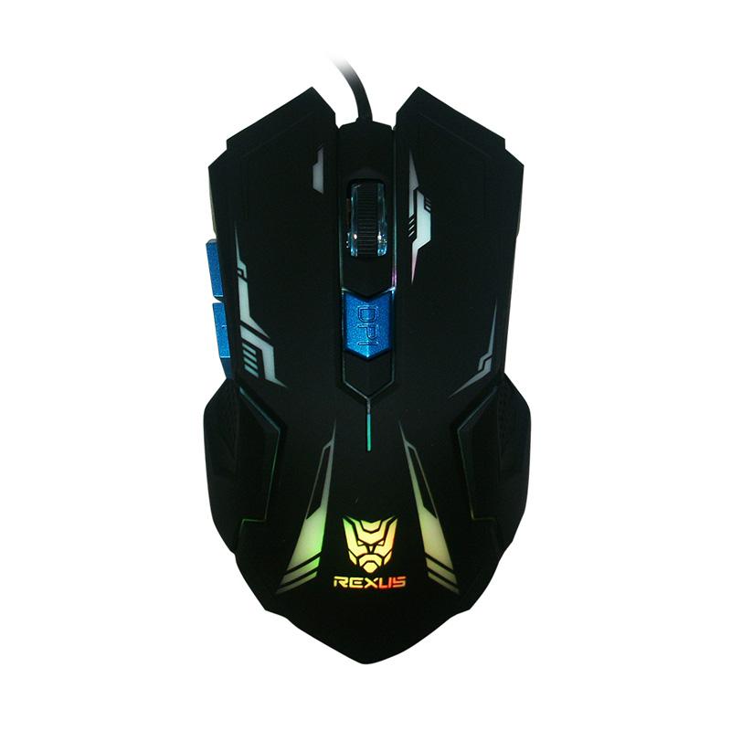 Rexus RXM-G4 Hitam Mouse Gaming