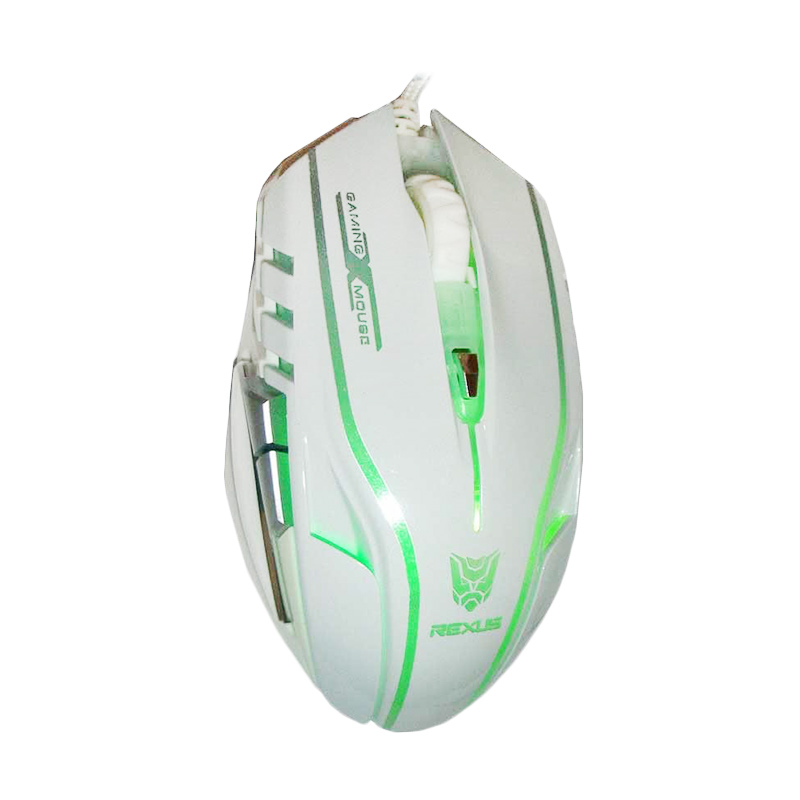 Rexus RXM-X5 White Gaming Mouse