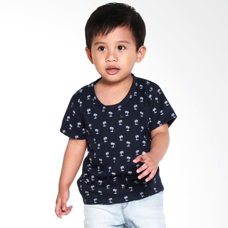 harga Rey n Ruby Navy Palm T-Shirt Atasan Anak Laki-laki Blibli.com