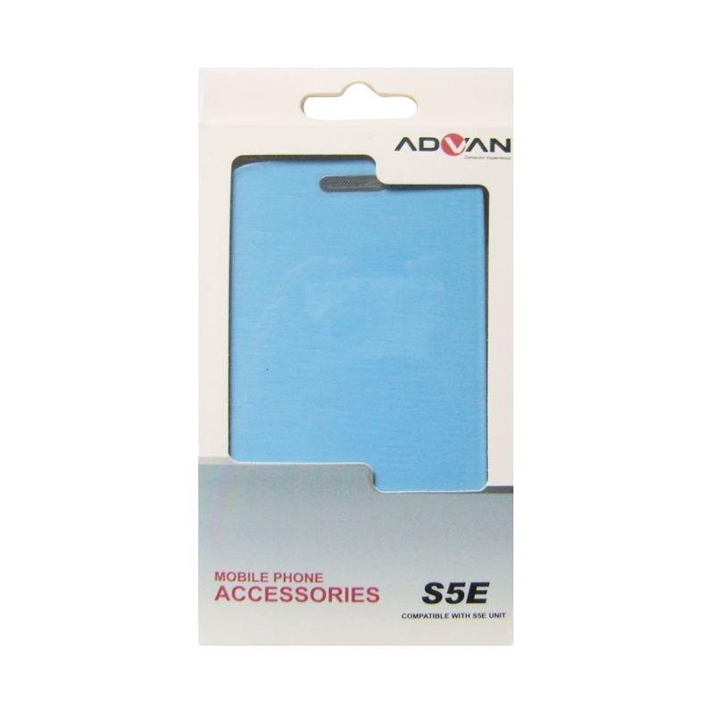 Advan Original Biru Flip Cover Casing for Vandroid S5E