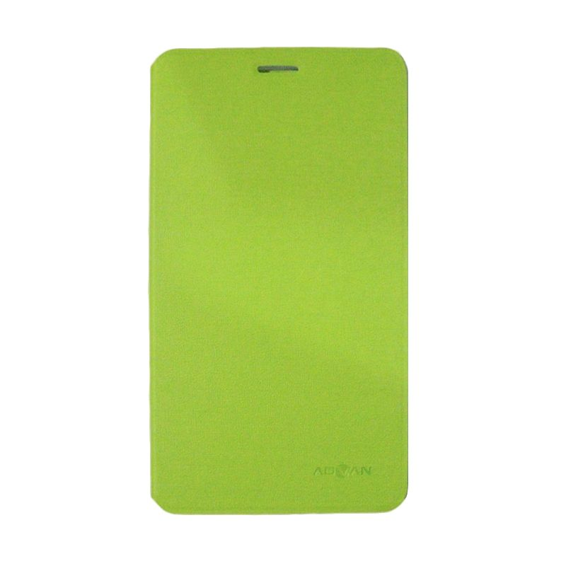 Advan Original Hijau Tosca Flip Cover Casing for T1J