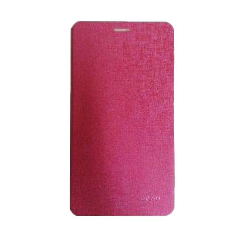 Advan Original Pink Flip Cover Casing for T1J/T1J