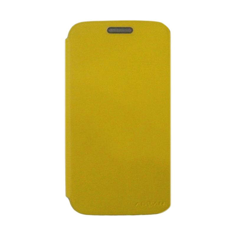 Advan Kuning Flip Cover Casing for Vandroid S5E [Original]