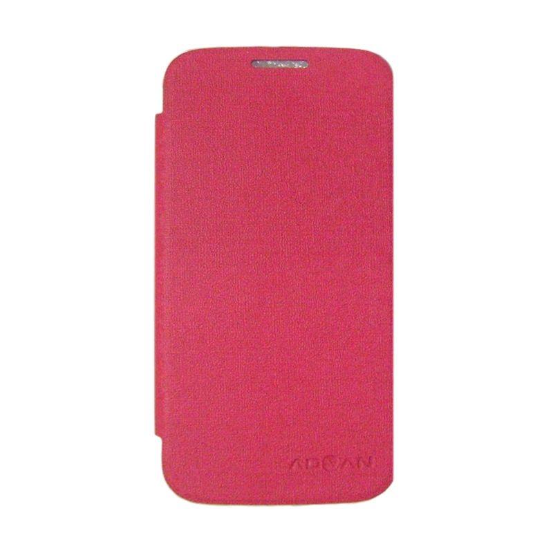 Advan Merah Flip Cover Casing for Vandroid S5H