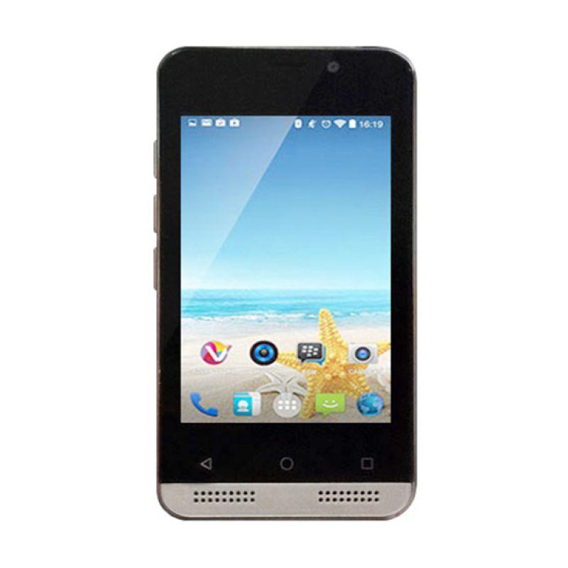 Advan Vandroid S35G Gold Smartphone [512 MB]