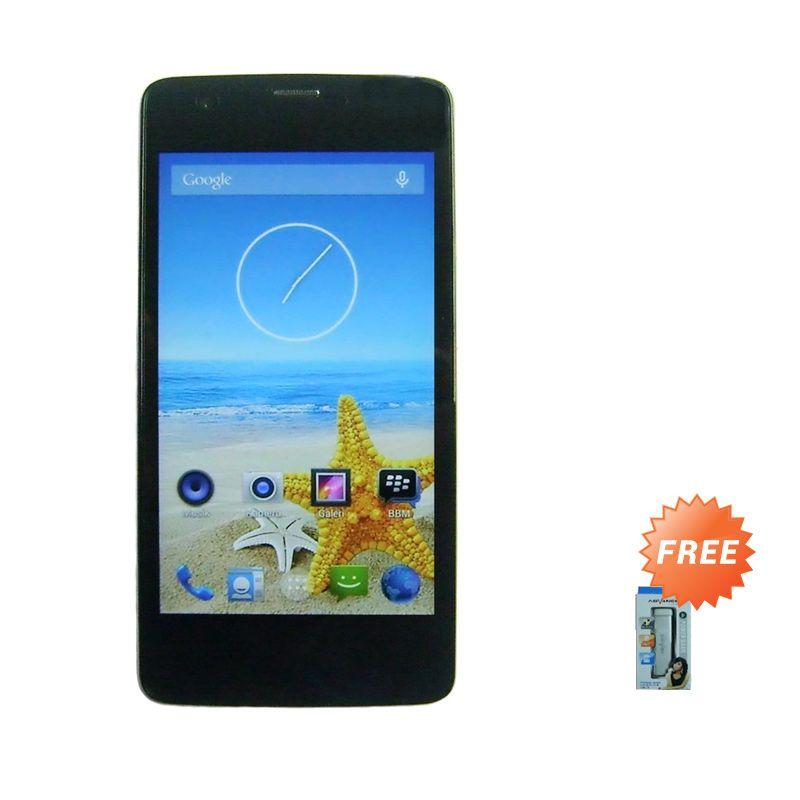 Advan Vandroid Signature S5X Plus Putih Smartphone + Advance Powerbank