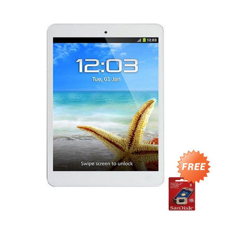 Advan Vandroid T5C Silver Tablet [8 GB] + Memory Card