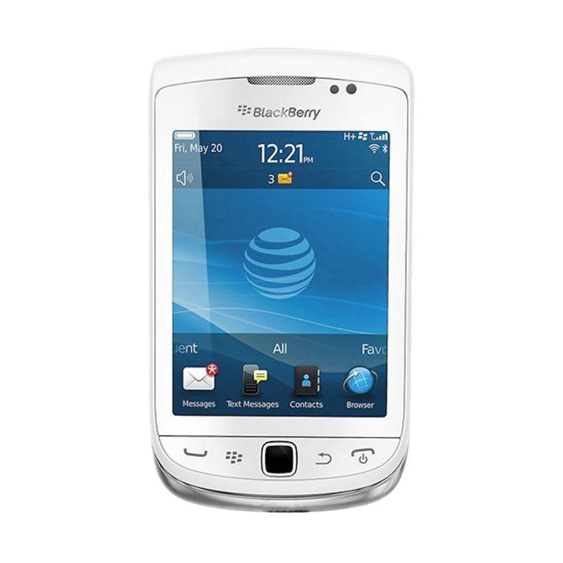 Blackberry 9810 Jennings Putih Smartphone [8 GB]