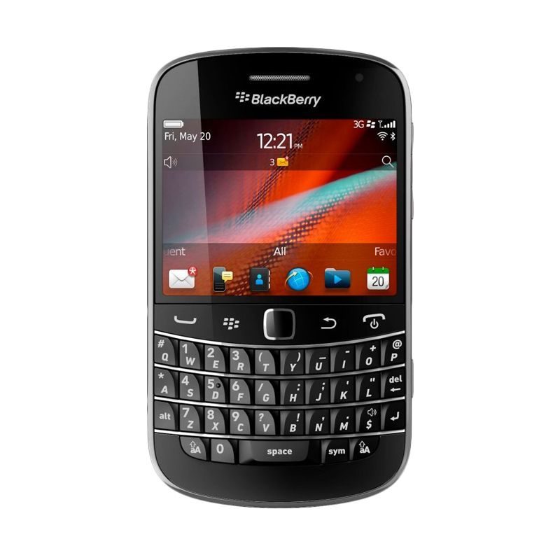 Blackberry Dakota 9900 Hitam Smartphone