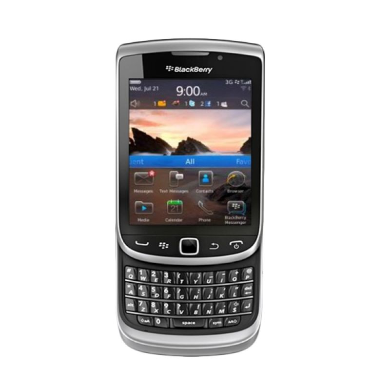Blackberry Torch Jennings 9810 Silver Smartphone
