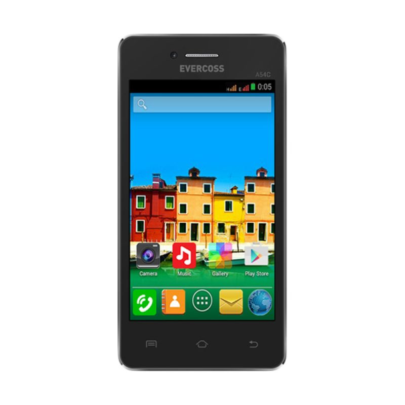 Evercoss A54C Jump Hitam Smartphone