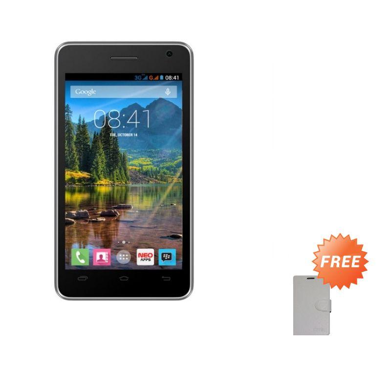 Mito Fantasy Mini A260 Putih Smartphone [4GB] + Flipcover Original