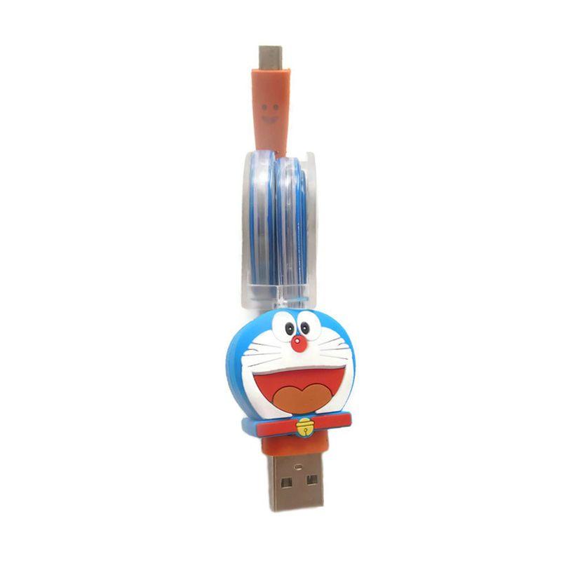 Rhaya Grosir Tarik Doraemon Kabel Data