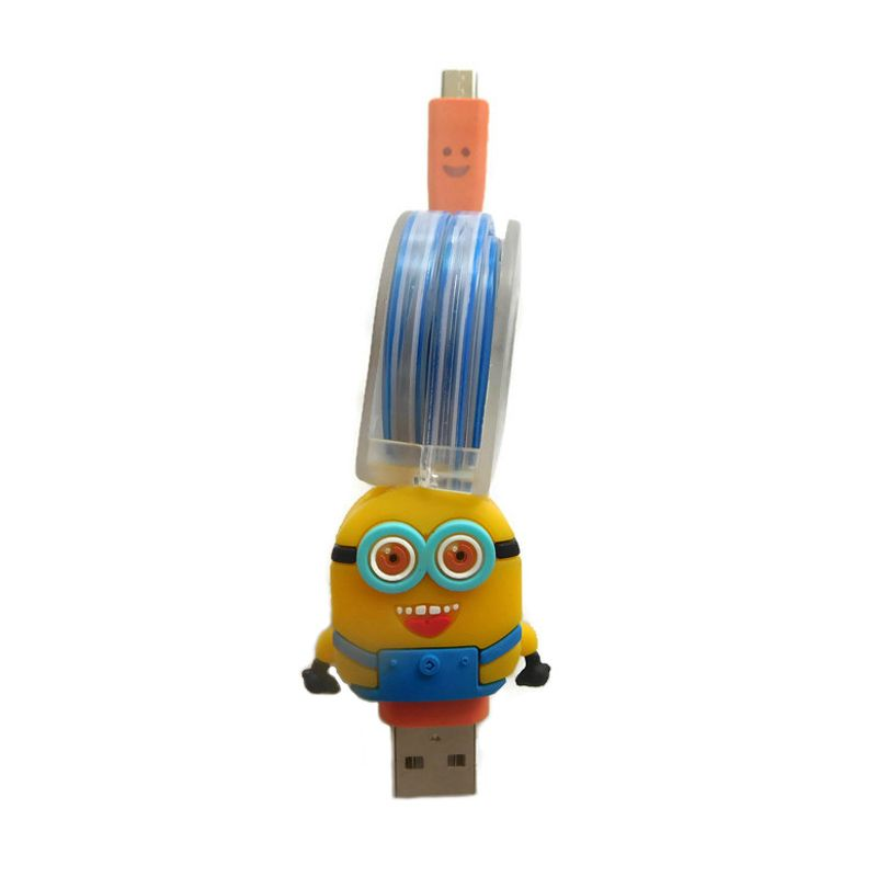 Rhaya Grosir Tarik Minion Kabel Data