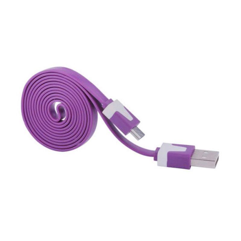 Rhaya Grosir Ungu USB Data Cable