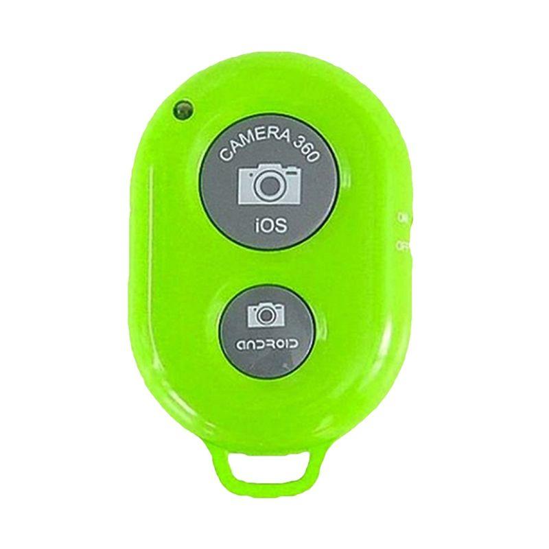 Rhaya Grosir Tomsis Bluetooth Hijau Remote Shutter