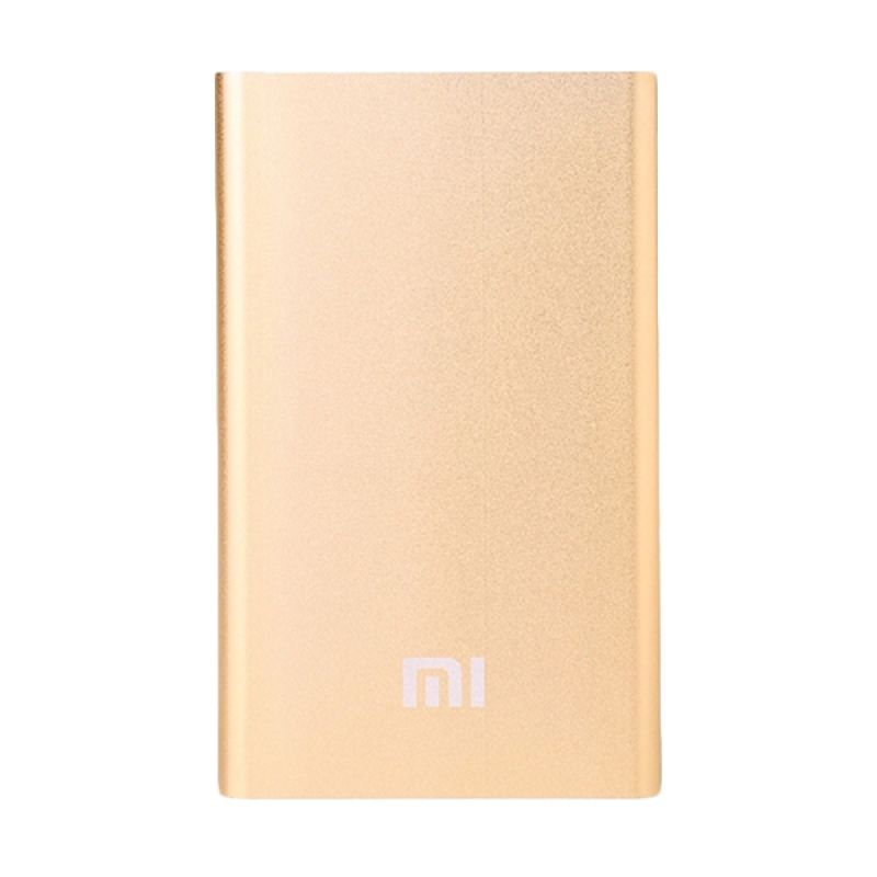Super Thin Gold Xiomi 9.9 mm Powerbank [68.000 mah]