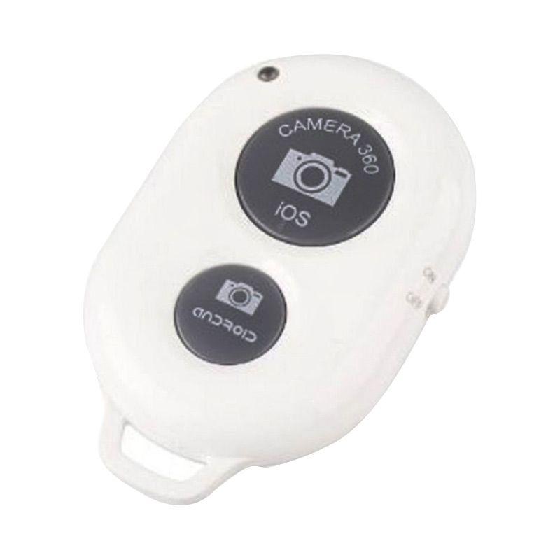 Tomsis Putih Bluetooth Remote Shutter