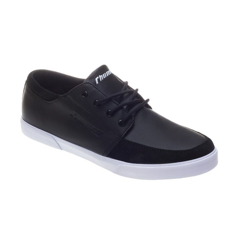 Rhumell Classic Black White Sepatu Sneakers Pria