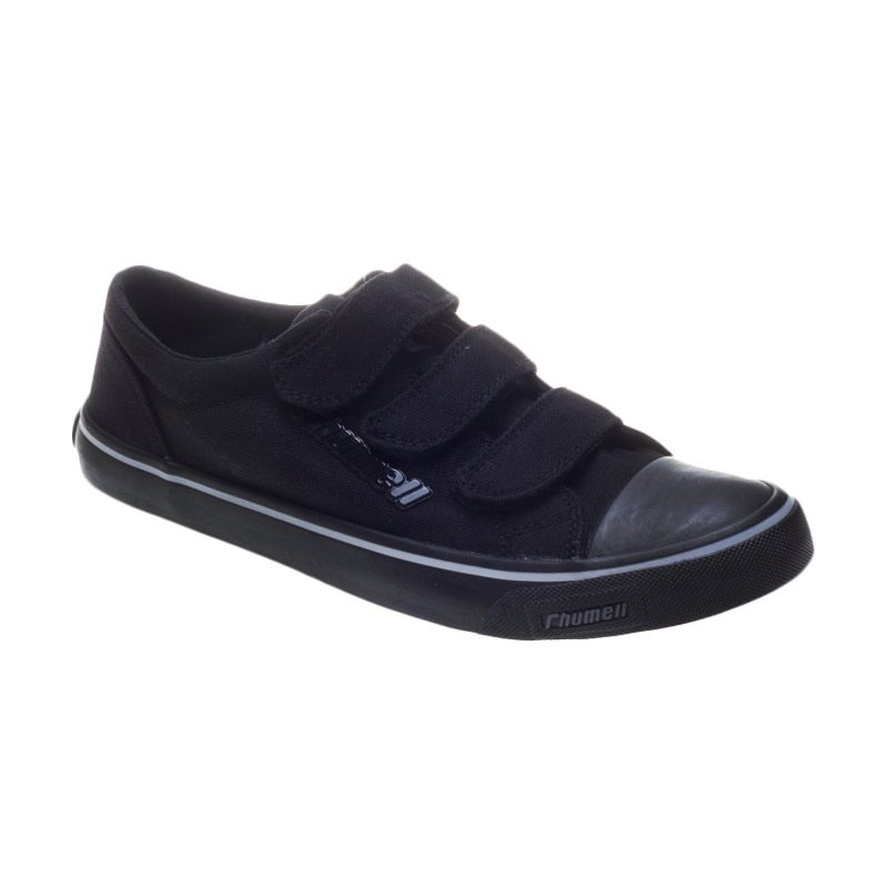 Rhumell Flute Velcro Black Sepatu Sneakers Pria