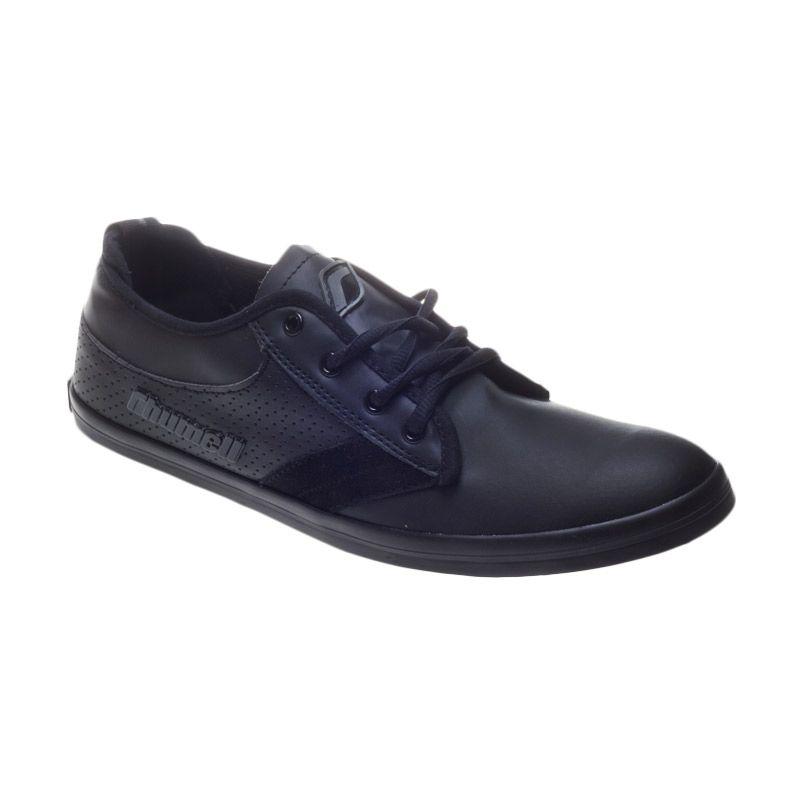 Rhumell Shark Black Grey Sepatu Sneakers Pria