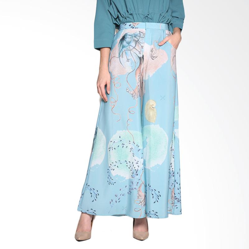 Ria Miranda Vivien Pants Muslim - Print Jellyfish Tosca