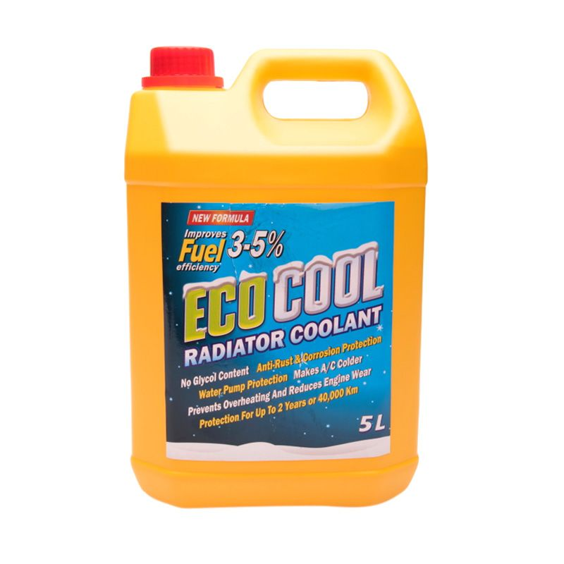 LJI Eco Cool Radiator Coolant Cairan Anti Karat [5 L]