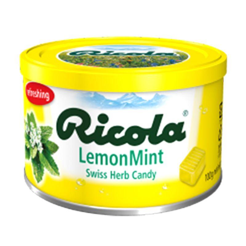 Ricola Tin Lemon Mint [100 g]