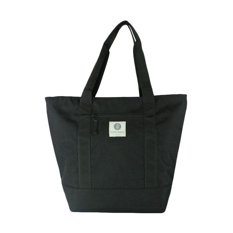 Ridgebake Runner Tote Bag - Black & Black