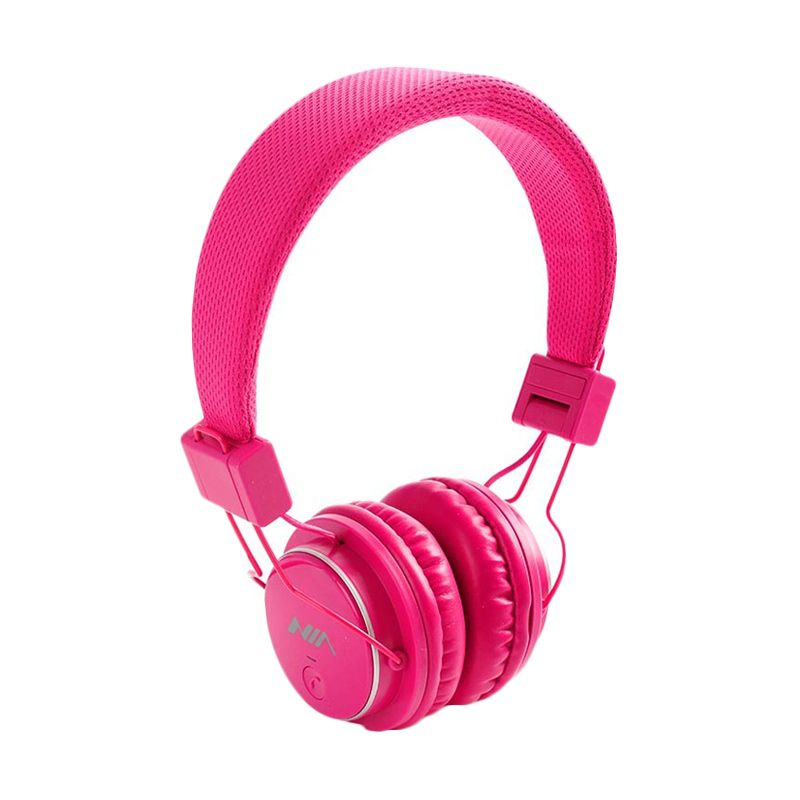 NIA Q8 Pink Bluetooth Headset