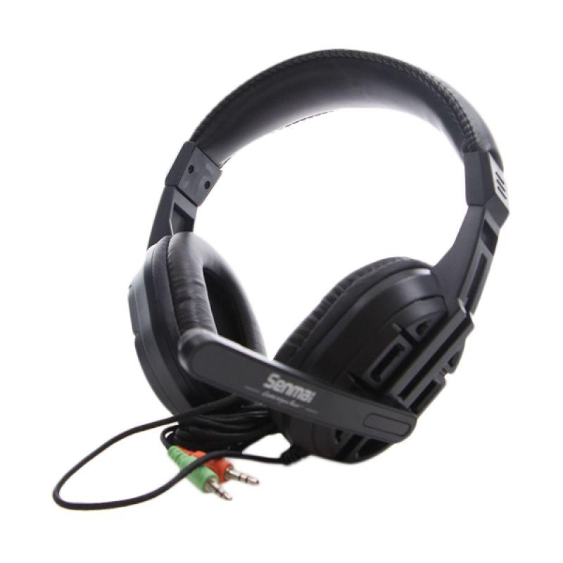 Senmai SM-PC629 Hitam Headset