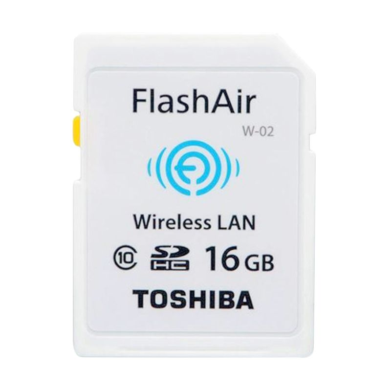 Toshiba Flash Air Wireless Memory Card Kamera [16 GB/Class 10]