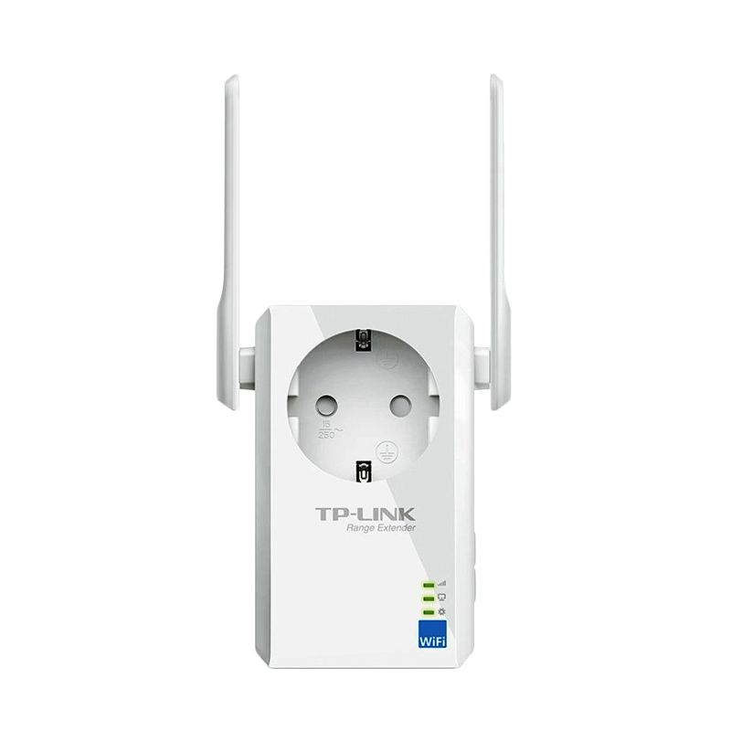 TP-LINK TL-WA860RE with AC Passthrough WiFi Range Extender [300 Mbps]