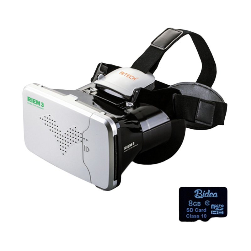 harga Riem 3 VR Box Cardboard 2 with Capacitive Touch/SDV02 8G Game/Virtual Reality Glasses/Kacamata Headset Blibli.com