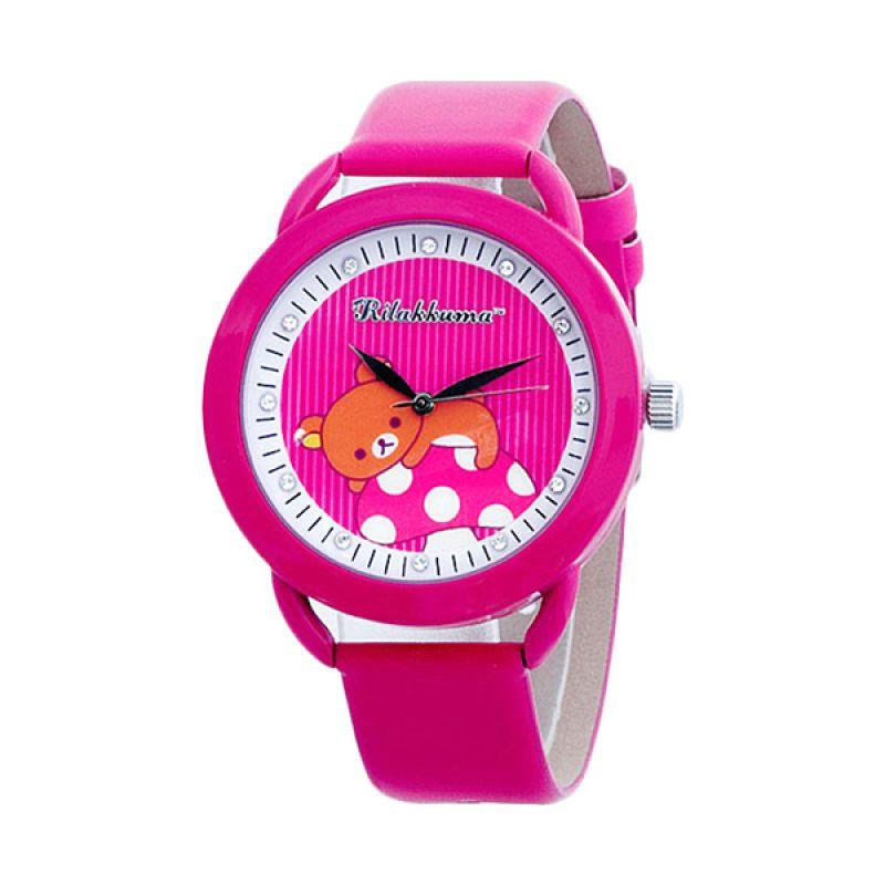 Rilakkuma RKFR1105-01A Jam Tangan Anak Pink